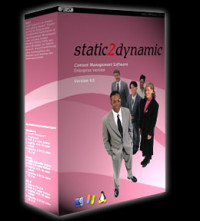 Release 4.0 des static2dynamic Content-Management-Systems